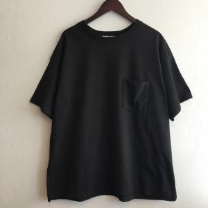 【FEW FABRICS】HIGH WEIGHT DRY WIDE S/S TEE BLACK