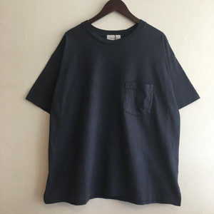 【FEW FABRICS】HIGH WEIGHT DRY WIDE S/S TEE NAVY