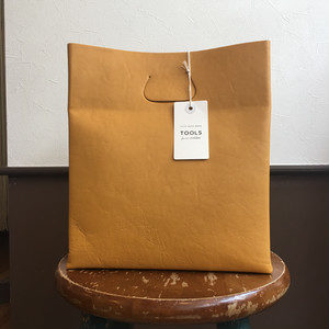 【TOOLS】lunch bag L BLACK/MUSTARD