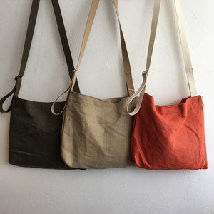 【TOOLS】newspaper bag S KHAKI/BEIGE/ORANGE