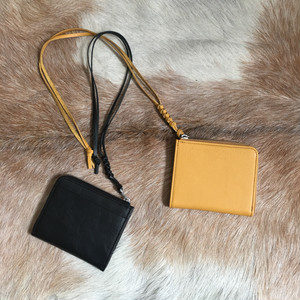 【TOOLS】neck wallet BLACK/MUSTARD