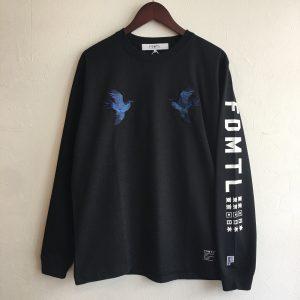 【FDMTL】CUCKOO L/S TEE BLACK