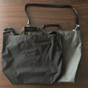 【TOOLS】2way shoulder bag black/gray