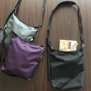 【TOOLS】utility mini shoulder bag black/gray/purple