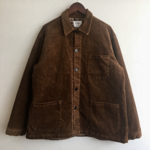 【H.UNIT】8w corduroy shirtall Brown