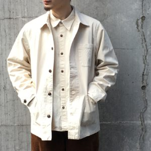 "SEUVAS CANVAS COVERALL / ""帆布""って素敵"