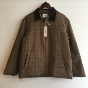 【weac.】JASTINE QUILTING JACKET CHECK