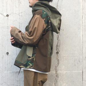 【H.UNIT】Ripstop crazy anorak hoodie / ミリタリーラバーには堪らないす