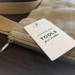 TOOLS / 道具としてのスタンス