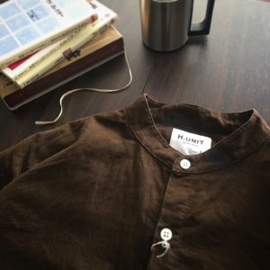 H.UNIT Corduroy shirt / アンティークな雰囲気が最高です。