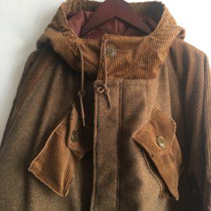 H.UNIT C/W combat coat / 重装備なコートです。