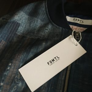 FDMTL BORO BOMBER JKT / Beautiful Fabric です。