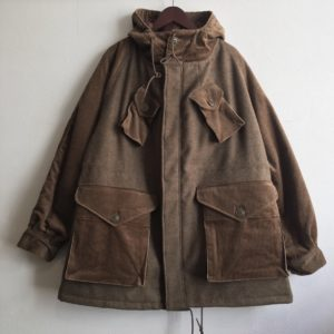 【H.UNIT】C/W Combat coat Beige