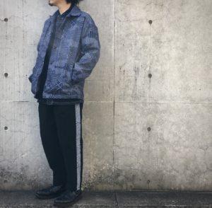 FDMTL SASHIKO COACH JKT / デジタルな刺し子。