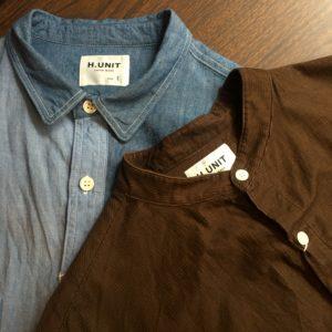 【H.UNIT】STYLE SAMPLE / シャツ・オン・シャツ。