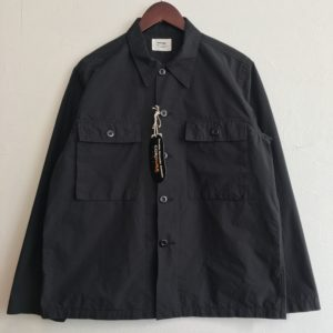 "【weac.】""BETTER"" CODURA SHIRT Black"