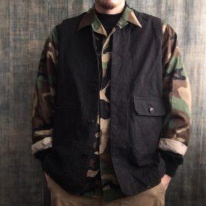 【weac.】Hunting vest / 武骨なベストが登場です。