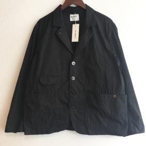 【H.UNIT】weather cloth coverall Black