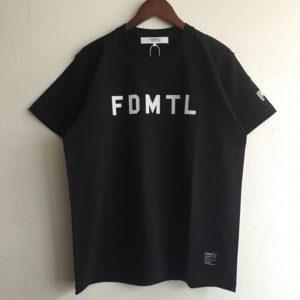 【FDMTL】LOGO TEE  BLACK