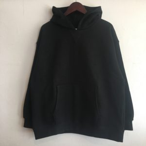 "【weac.】""DORRY"" Sweat Parker Black"