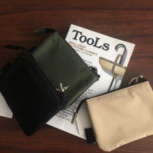 【TOOLS】utility  wallet -M- Beige / Khaki / Black