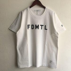 【FDMTL】LOGO TEE  WHITE