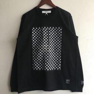 【FDMTL】KASURI L/S TEE BLACK
