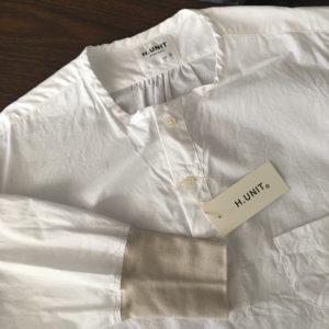 【H.UNIT】Sleeping rib shirt/パジャマをアレンジ。