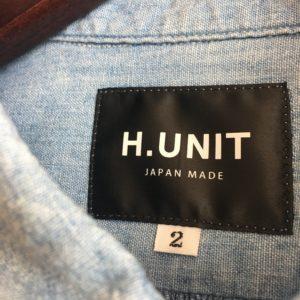 【H.UNIT】BLACK LABER/新ラインです。