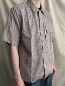【H.UNIT】粋なチェックシャツが到着。