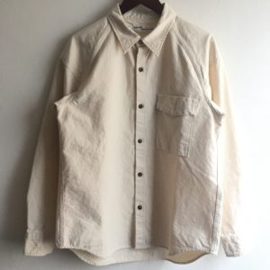 【SEUVAS】79A Farmers shirt  Ivory