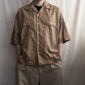 【H.UNIT】復活のドルマンシャツ。