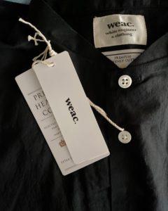 """【weac.】人気のチビ衿シャツ""""CHIVIC""""が入荷しました。"""