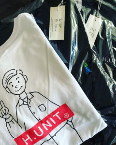 【H.UNIT】新作Tシャツ第二弾入荷!!