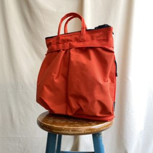 "【SML】HELMET BAG ""S"" ORANGE"