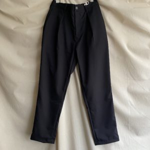 【weac.】ACTIVE SLACKS BLACK