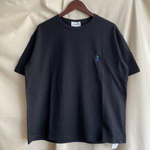 【H.UNIT】H.UNIT BOY 刺繍tee Black