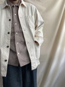 【H.UNIT】春におすゝめなチェックシャツ。