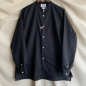 "【weac.】""CHIVIC""  SHIRT BLACK"