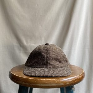 【melple】Beach Tailor Tweed 6panel cap BROWN