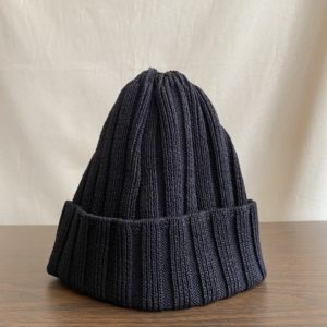 【weac.】美濃和紙 SUMMER KNIT CAP BLACK