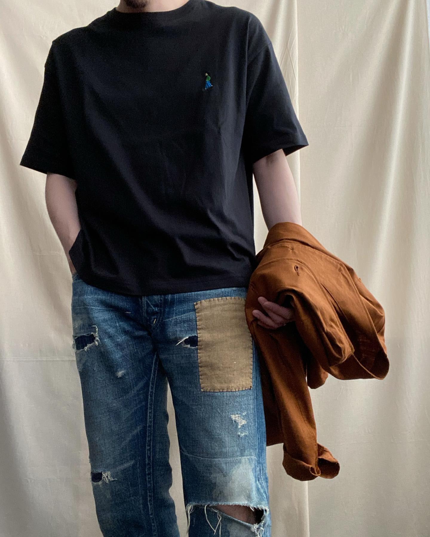【STYLE SAMPLE】Tシャツには羽織も。