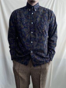 【weac.】アンティークなシャツ。