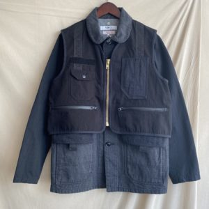 【FDMTL】3WAY COVERALL BLACK