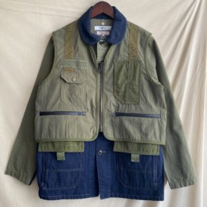【FDMTL】3WAY COVERALL KHAKI
