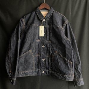 【BLOG】Left hand denim work jacket !!