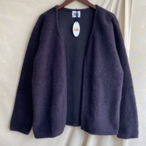 【melple】Winter Bolero  BrownNavy