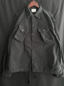 【H.UNIT】Backsatin combat shirt.