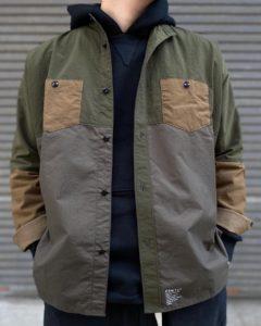 【FDMTL】パッチワーク×ミリタリーなシャツ。