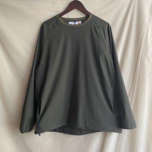 【melple】Tomcat Utility Pullover Shirts Khaki